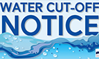 water cut off